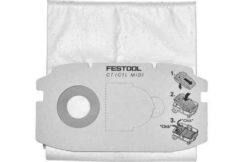Мешок-пылесборник, компл. из. 5 шт. SC FIS-CT MIDI/5 Festool