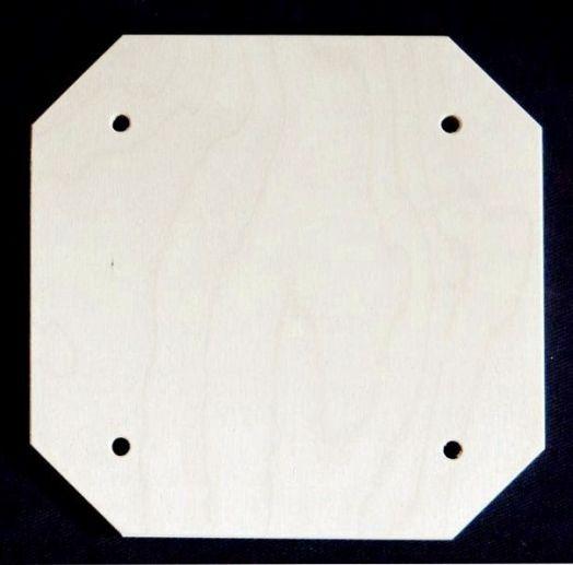 Панно квадратное со скошенными углами