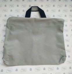 серые сумки paper