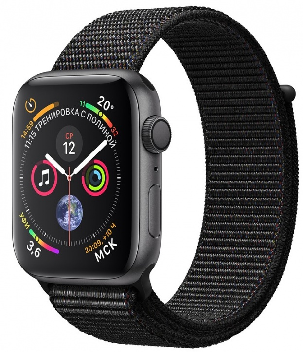 Apple Watch Series 4 GPS 44mm Loop Black