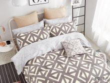 Комплект постельного белья Сатин SL 1.5 спальный  Арт.15/402-SL