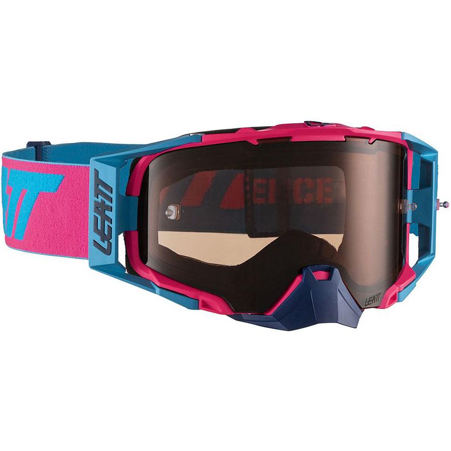 Leatt Velocity 6.5 Pink/Cyan Rose UC 32%,  очки для мотокросса и эндуро