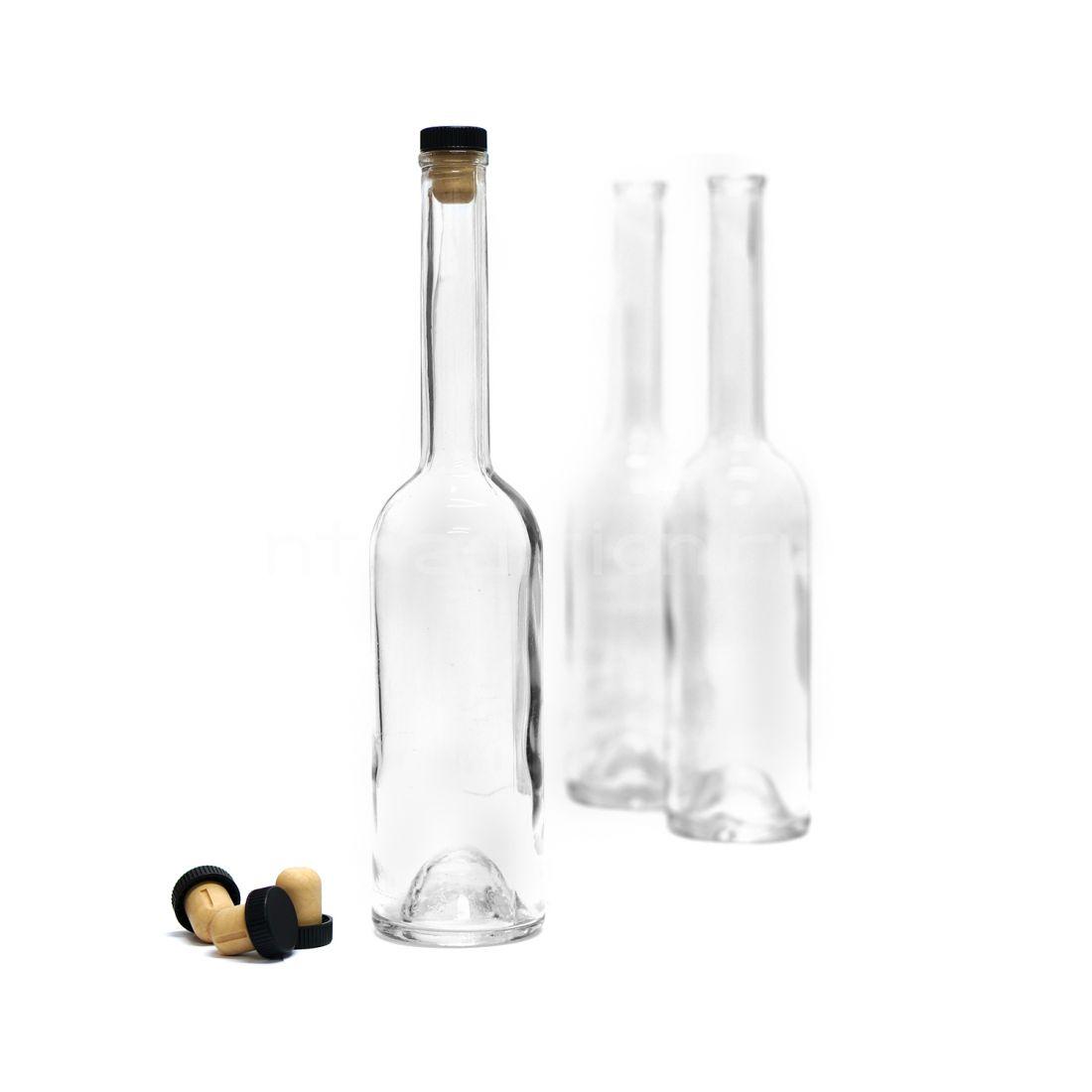Бутылка Винный шпиль, с пробкой КАМЮ, 0,5 л /12 штук