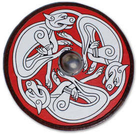 Щит Круглый с Кельтскими Собаками