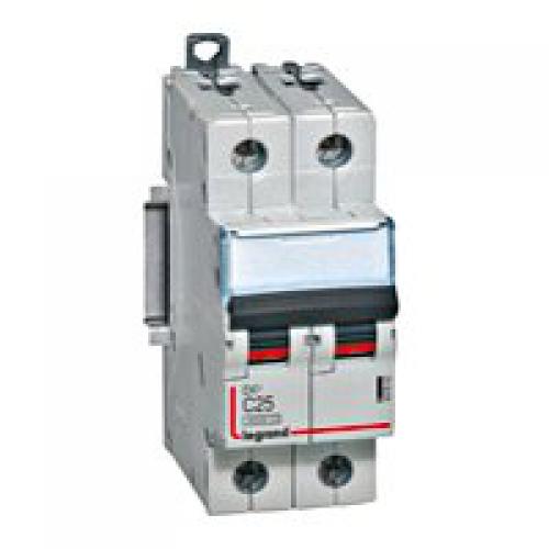 407805 Авт.выключатель DX3 2П С50A 6000/10kA Legrand