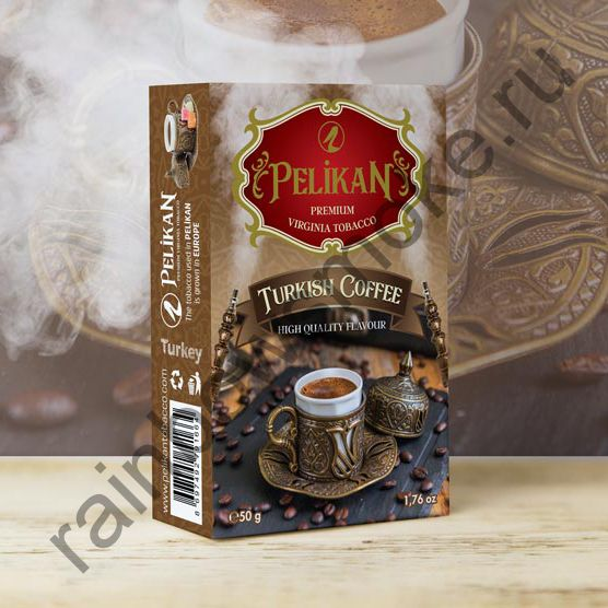 Pelikan 50 гр - Turkish Coffee (Турецкий Кофе)