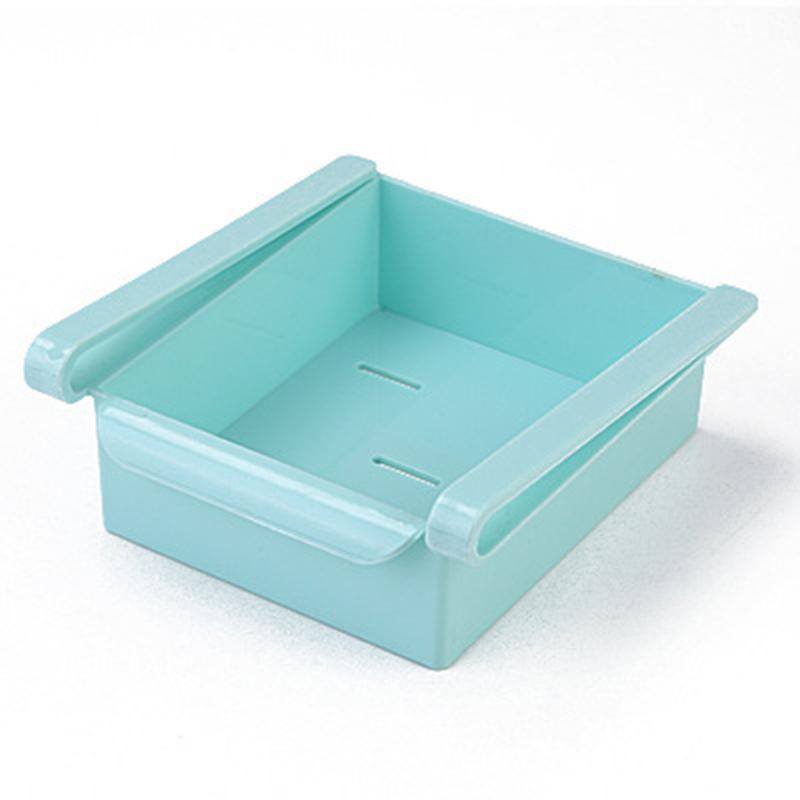 Органайзер для холодильника Refrigerator MULTIFUNCTIONAL STORAGE BOX, цвет голубой