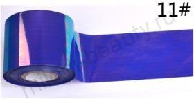 Фольга для создания эффекта БИТОЕ СТЕКЛО № 11, размер 5х25 см