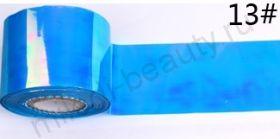 Фольга для создания эффекта БИТОЕ СТЕКЛО № 13, размер 5х25 см