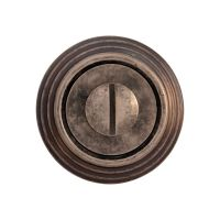 Накладка-фиксатор круглая Melodia 50 P WC. серебро античное