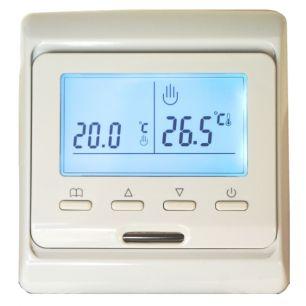 Электронный програмируемый терморегулятор E 51,716 кремовый