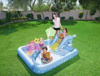 """Игровой бассейн """"Аквариум"""" с брызгалкой и аксессуарами 239 х 206 х 86 см, 308 л."""