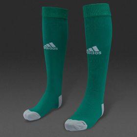 Гетры Adidas Milano зеленые профессиональные