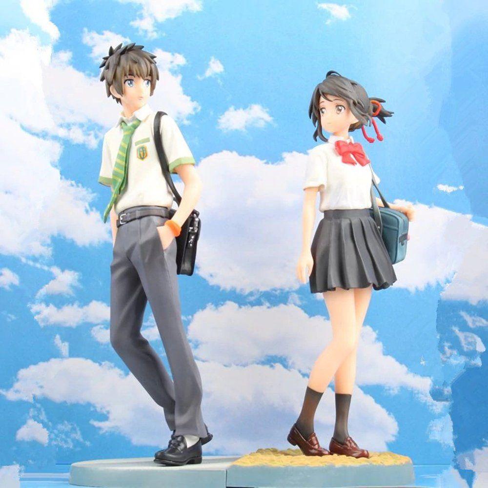Комплект фигурок из аниме - Твоё имя