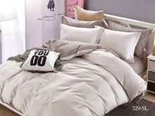 Комплект постельного белья Сатин SL 1.5 спальный  Арт.15/329-SL
