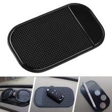 Коврик для телефона и мелких предметов Stick mat, Цвет: Чёрный