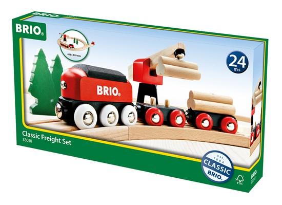 BRIO Железная дорога для малышей с краном, 18 элементов