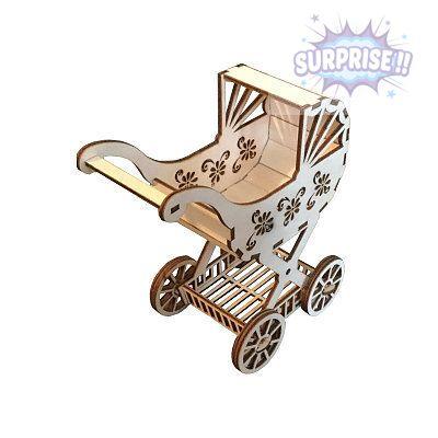 """""""Детская коляска"""" для маленьких и больших кукол"""