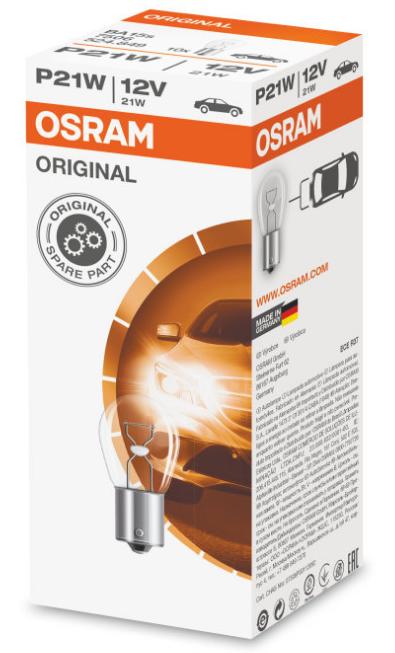 Лампа 12V P21W 12ba15s 7506