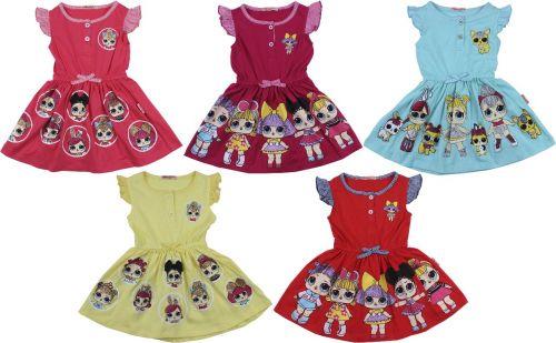 """Платье для девочек  """"LOL"""" 3-7 лет BN1178-2"""