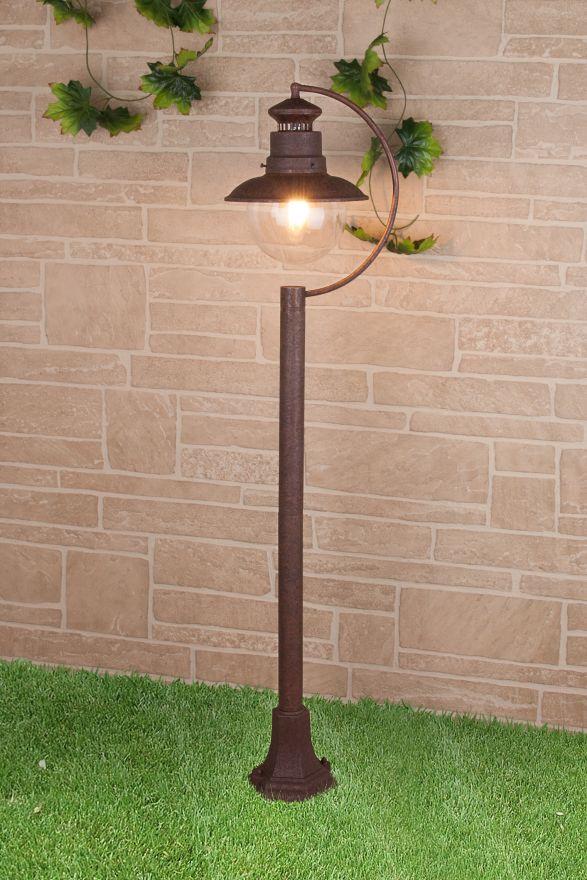 Уличный светильник на столбе Elektrostandard GL 3002F Talli F брауни