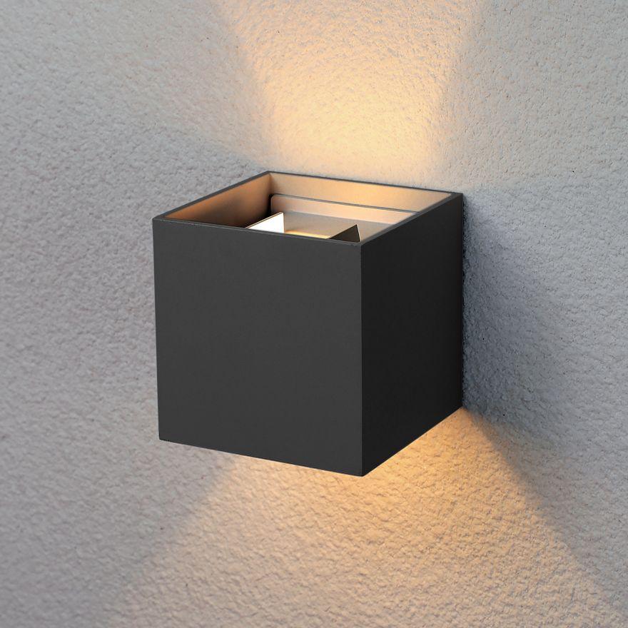 Уличный настенный светодиодный светильник Elektrostandard 1548 TECHNO LED WINNER черный