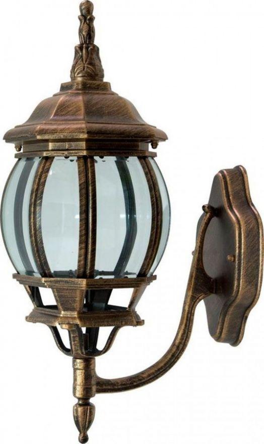 Светильник садово-парковый Feron 8101 восьмигранный на стену вверх