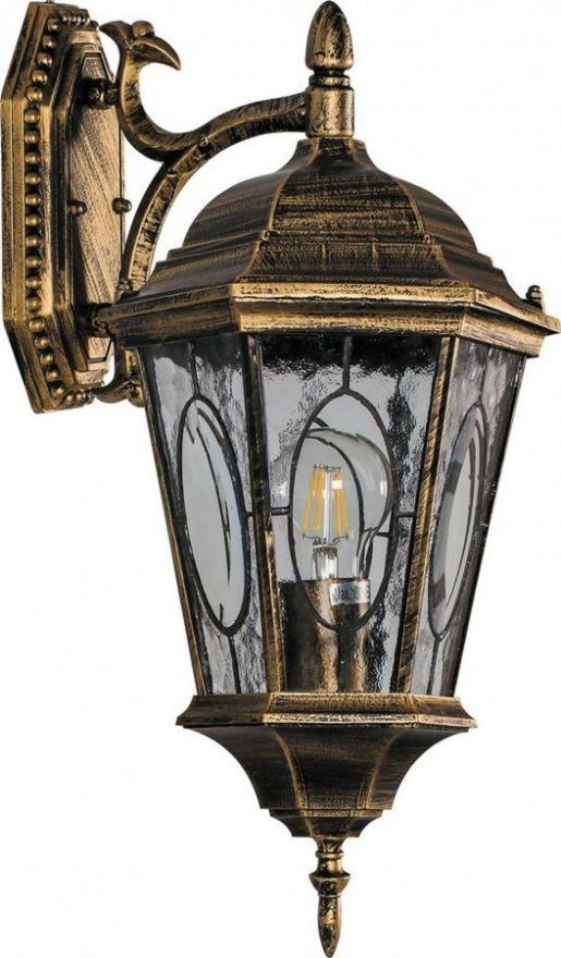 Светильник садово-парковый Feron PL161 шестигранный на стену вниз