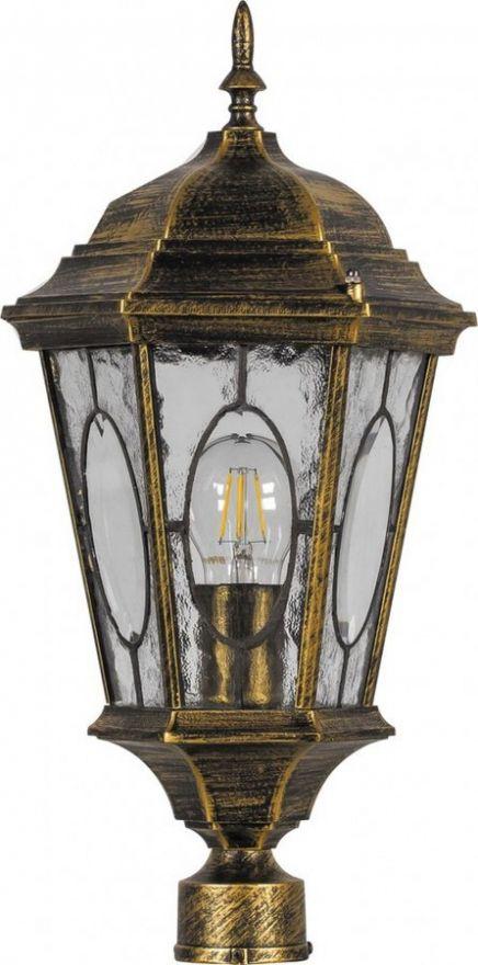 Светильник садово-парковый Feron PL162 шестигранный на столб