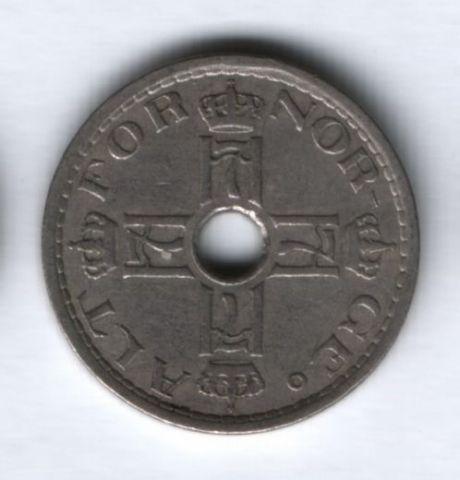 50 эре 1928 года Норвегия