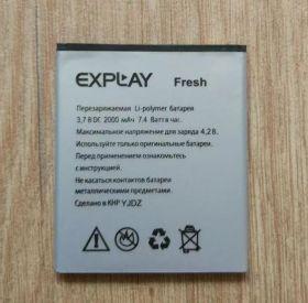 Аккумулятор оригинал для Explay Fresh (2000 mAh)