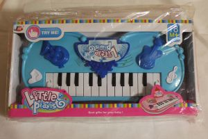 ! пианино голубое, ячейка: 4