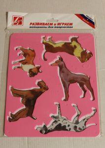 ! трафарет породы собак, ячейка: 12