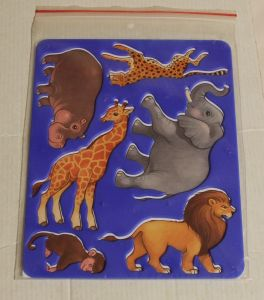 ! трафарет животные африки, ячейка: 12