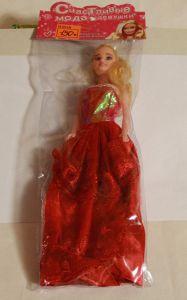 ! кукла в красн платье, ячейка: 18