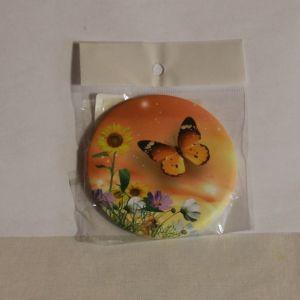 ! зеркало бабочка оранж, ячейка: 16
