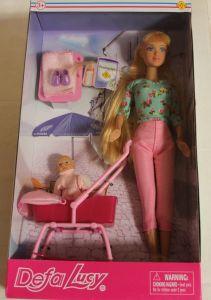 ! кукла с ребенком с аксесс 28см, ячейка: 32