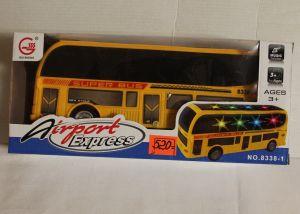 ! автобус на батар 23см, ячейка: 35