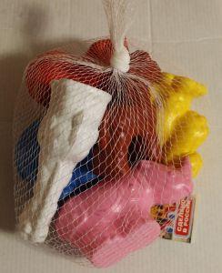 ! набор зоопарк пластмас 6шт, ячейка: 50