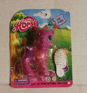 ! пони с расчес малин, ячейка: 56