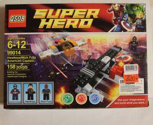 ! супергерои капитан 158д, ячейка: 64