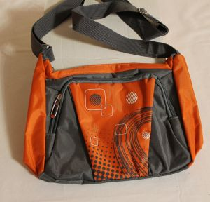 ! сумка молод длин руч серооранж 1отд+карман, ячейка: 70