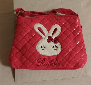 ! сумка детс зайка роз длин руч кожзам, ячейка: 71