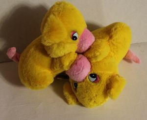 ! свинки пара желт, ячейка: 75