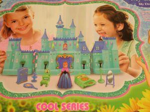 ! замок принцессы с мебелью, ячейка: 81