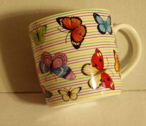 ! кружка бабочки 360мл, ячейка: 91