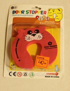 ! стоппер д/двери 19см мал кот, ячейка: 91