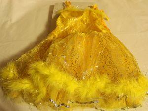 ! платье желт блест 98-104, ячейка: 94