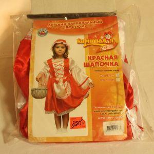 ! красная шапочка платье шапка р 122, ячейка: 95