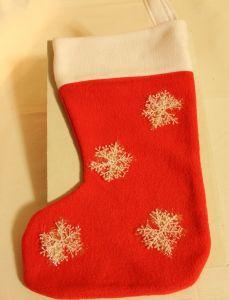 ! носок подар крас снеж, ячейка: 95